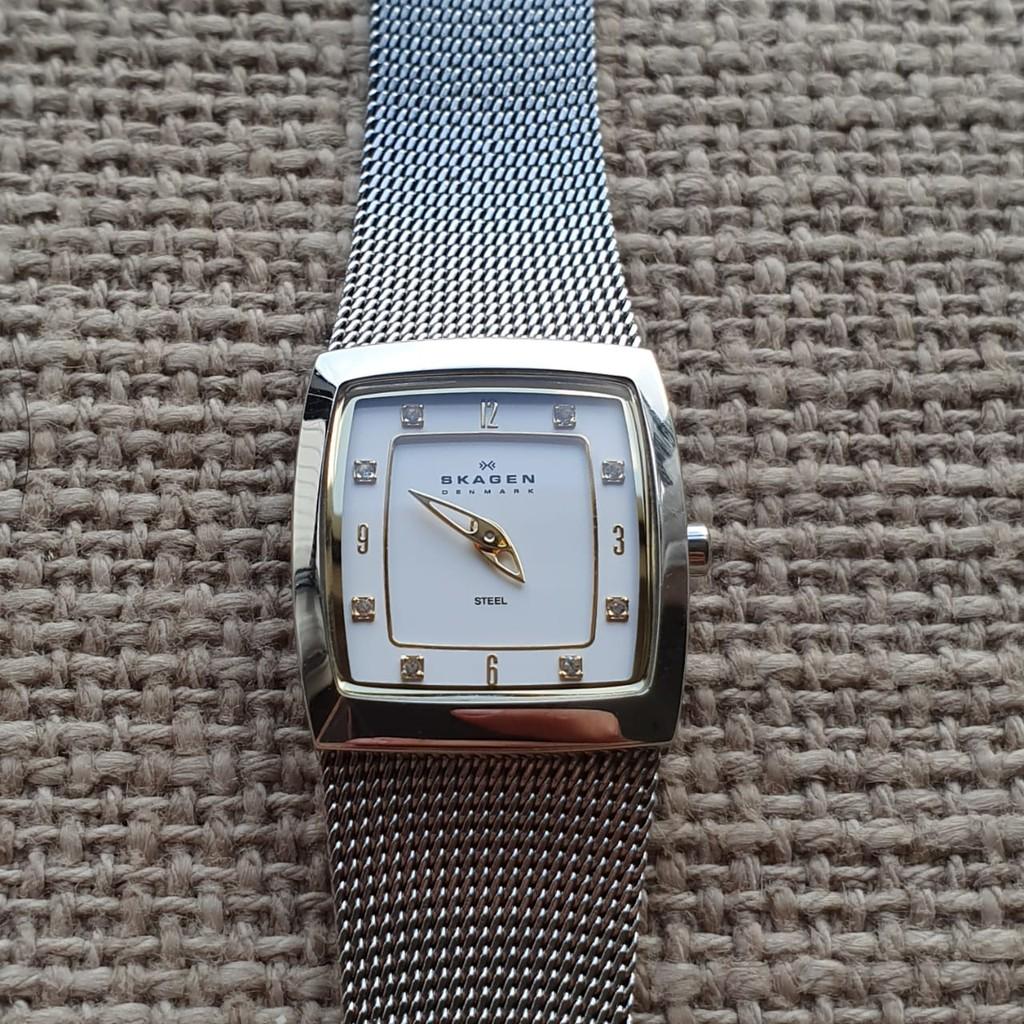 [HOT] - Đồng hồ nữ Skagen 380XSGS chính hãng, xách tay Mỹ, mới 95%