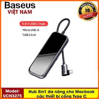 HUB Đa Năng Chuyển Đổi Từ Đầu Type C Sang Các Dòng Dữ Liệu USB, RJ45, HDMI Độ Nét 4K,TF Card Cho Smartphone Cổng Type C