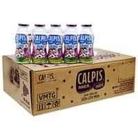 Sữa Chua Uống Calpis Mini Vị Nho Chai 80ml (thùng 40 chai)