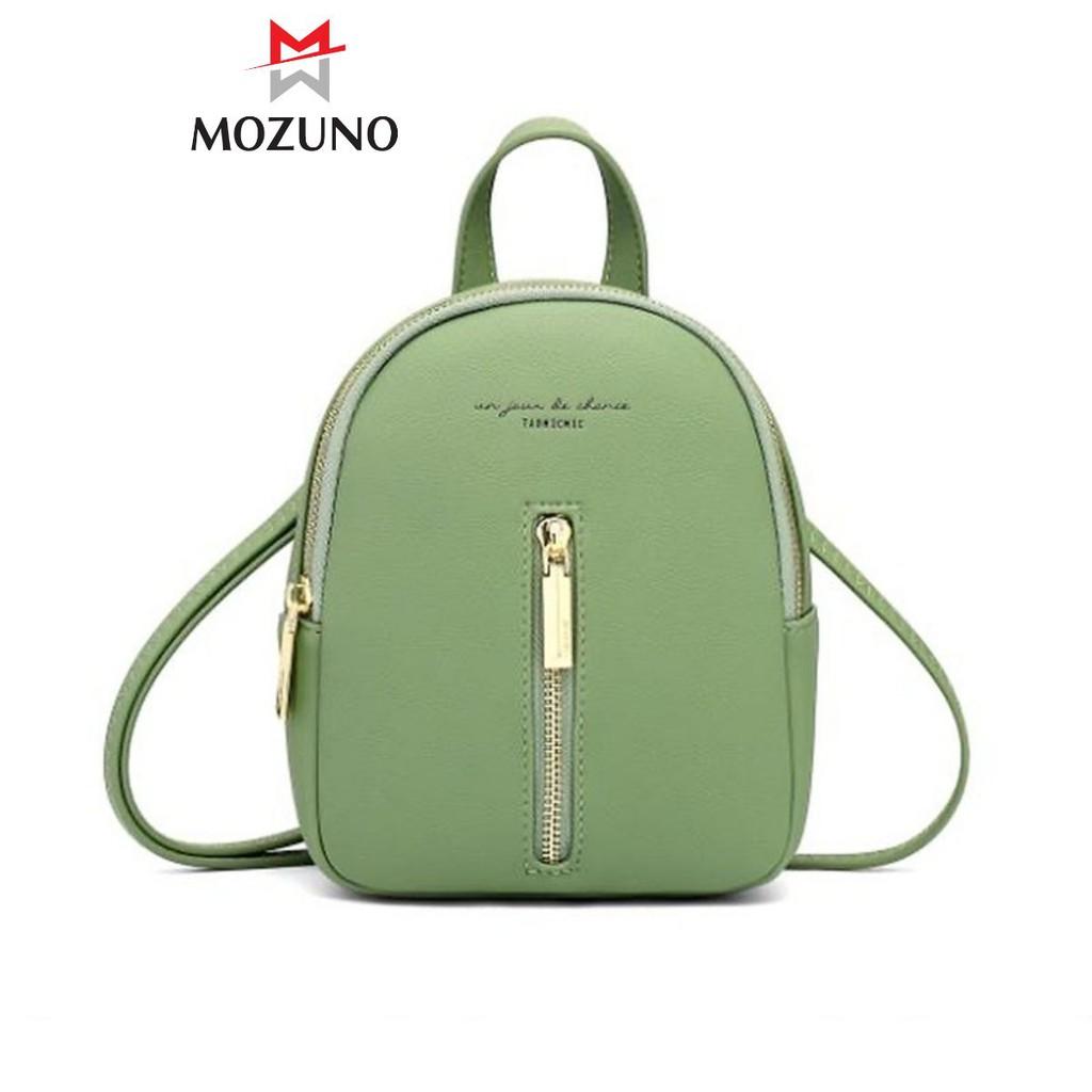 Balo Nữ Thời Trang Chính Hãng TAOMICMIC Kiểu Dáng Vintage Da PU Cao Cấp Khóa Giữa Siêu Đẹp TM17 - Mozuno