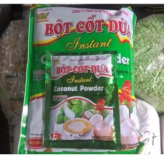 1 Túi bột cốt dừa - 1 túi 10 gói - 1 gói 50gram