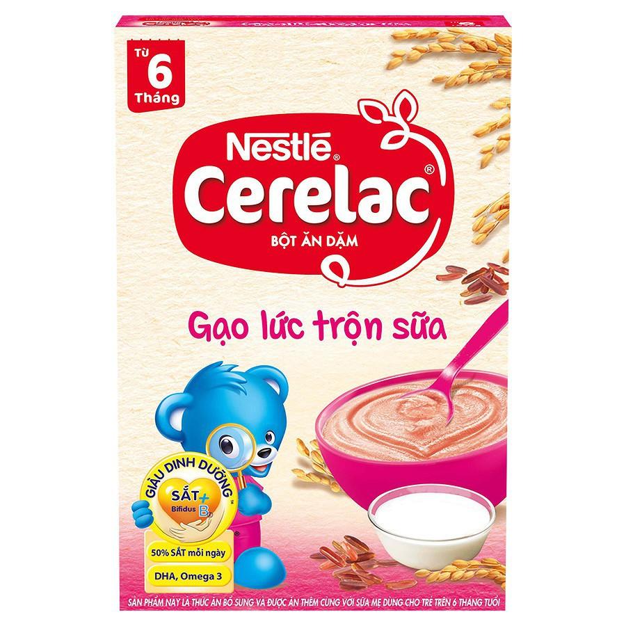 Bột Ăn Dặm Nestle Cerelac - Gạo Lức Trộn Sữa (200g) - 3615554 , 1338053459 , 322_1338053459 , 58000 , Bot-An-Dam-Nestle-Cerelac-Gao-Luc-Tron-Sua-200g-322_1338053459 , shopee.vn , Bột Ăn Dặm Nestle Cerelac - Gạo Lức Trộn Sữa (200g)