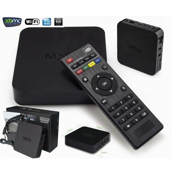 TV BOX MXQ 4K Ram 1GB Rom 8GB
