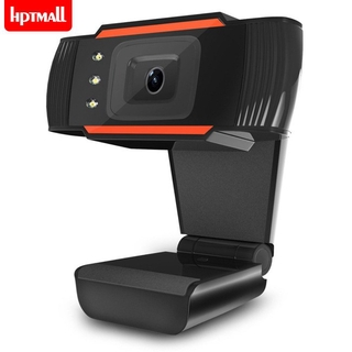 [NTO] 3LEDs Web Camera 12MP 720P HD Webcam USB Camera with Microphone for Computer PC Laptop
