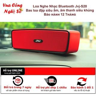Loa Bluetooth mini Soundlink S20 JVJ-S20, máy nghe nhạc đa chức năng hỗ trợ cắm thẻ nhớ Usb, Dây 3.5 thumbnail