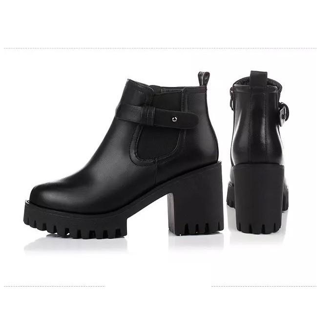 Boot Da 2 Màu cực chất