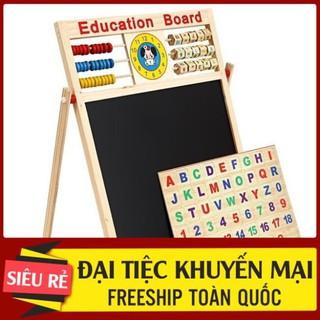Bảng nam châm cho các con học chữ 2 mặt tiện lợi