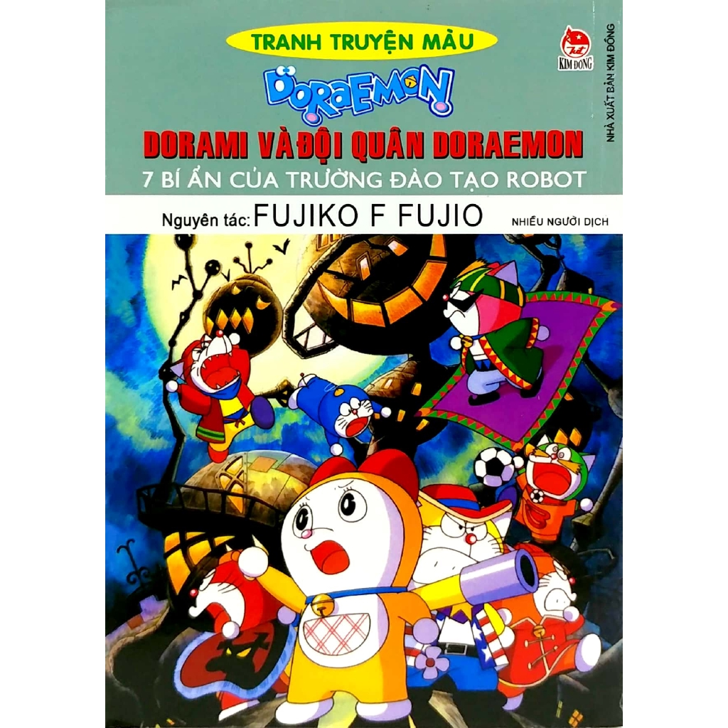 Sách - Doraemon Tranh Truyện Màu - Dorami Và Đội Quân Doraemon - 7 Bí Ẩn  Của Trường Đào Tạo Robot giá cạnh tranh