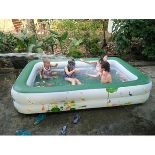 Bể phao bơi 1m2 cho bé