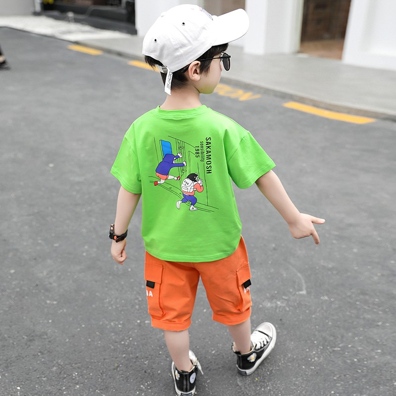 Áo Thun Tay Ngắn Thiết Kế Xinh Xắn Đáng Yêu Hợp Thời Trang Cho Bé 5 Tuổi