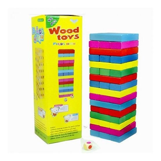 [THANH LÝ GIÁ GỐC] Rút gỗ mầu 48 thanh loại to nặng gần 1kg | HÀNG MỚI