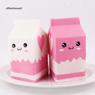 Soft Squishies Yogurt Milk Bottle Slow Rising Kids Adults Decompression Toy