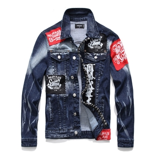 Áo Khoác Jeans Thời Trang Dành Cho Nam