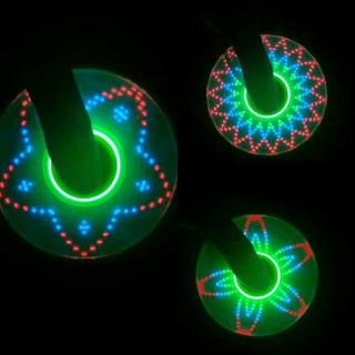 Colorful Flash Light LED Hand Spinner Fidget Finger Focus Toy Gyro Gift