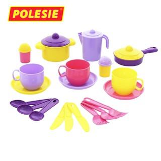Bộ đồ chơi nấu ăn cho 3 người – Polesie Toys