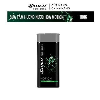 Sữa tắm nước hoa X-Men For Boss Motion – Mùi hương năng động phóng khoáng 180g
