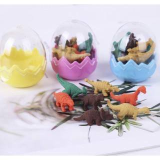 [SẴN HÀNG] Gôm Tẩy Hình Khủng Long - Trứng Khủng Long thumbnail