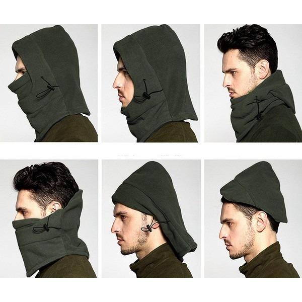 Mũ trùm đầu đa năng giữ ấm và chống bụi