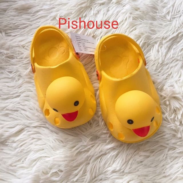(Pishouse Hcm) Dép Vịt Vàng Thái Lan Size 18-29 giá rẻ