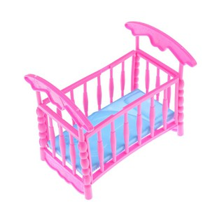 Doll Accessories Baby Bed Super Cute Bed For Small Kelly Dolls For Barbie Dolls