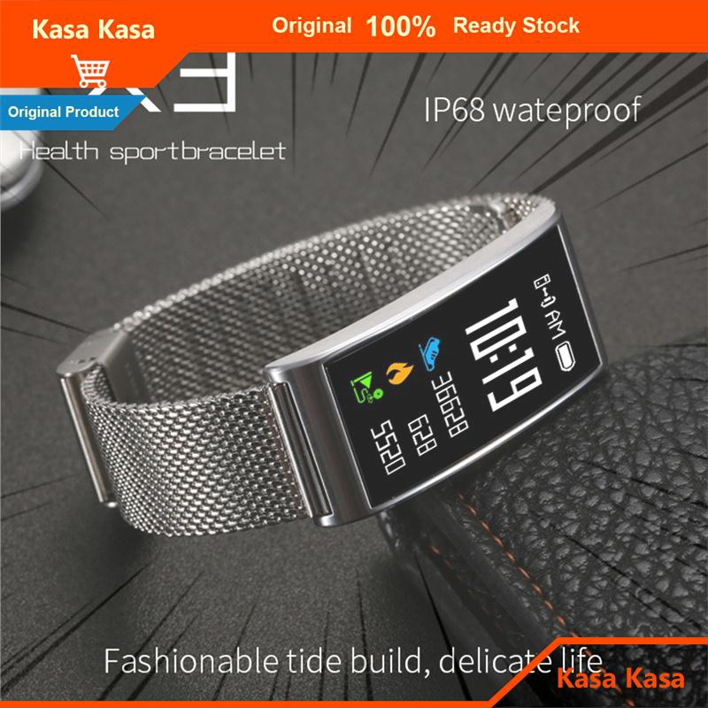 Vòng đeo tay thông minh kas chống nước kết nối Bluetooth theo dõi nhịp tim
