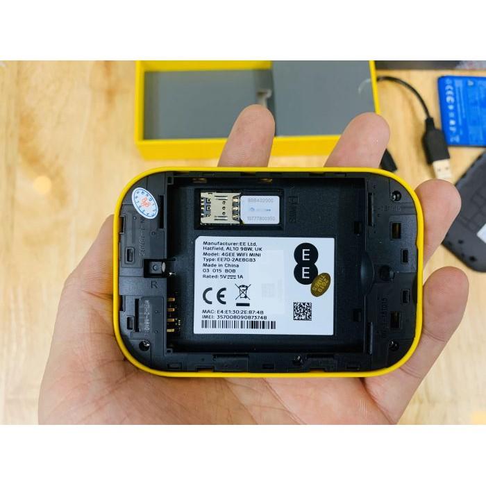 Alcatel EE70   Bộ Phát Wi-Fi Di Động 4G LTE 300Mbps, Pin 2150mAh, Wifi 802.11ac Hỗ Trợ 10 Kết Nối   Bảo Hành 12 Tháng 1