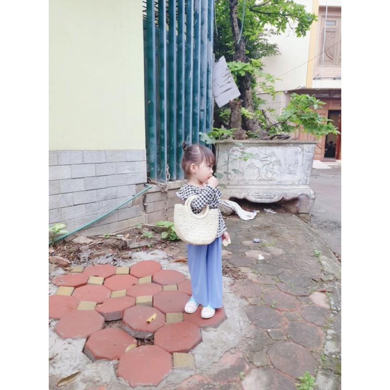 Túi cói cầm tay cho bé( ảnh tự chụp)