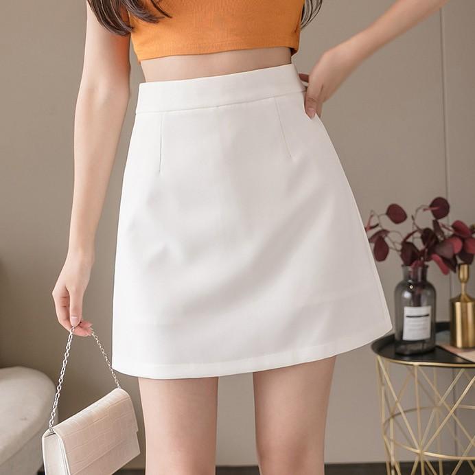 [Mã WAMT10K giảm 10K đơn 0K] [Quà tặng là gói xả vải nhé bạn] Chân váy ngắn chữ a, Váy chữ A công sở mẫu ngắn MADELA.
