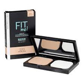 Phấn Nền Mịn Lì Fit Me Skin Fit Powder Foundation 9g thumbnail