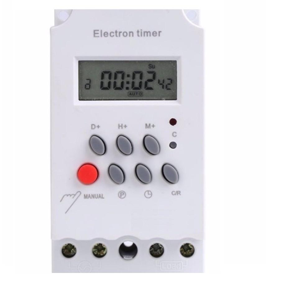 Công tắc hẹn giờ thông minh KG316T-II tắt mở tự động chuẩn công nghiệp 25A  ổ cắm hẹn giờ