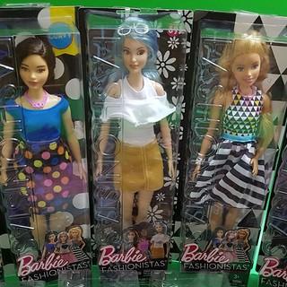 Búp bê chính hãng Barbie Fashionista