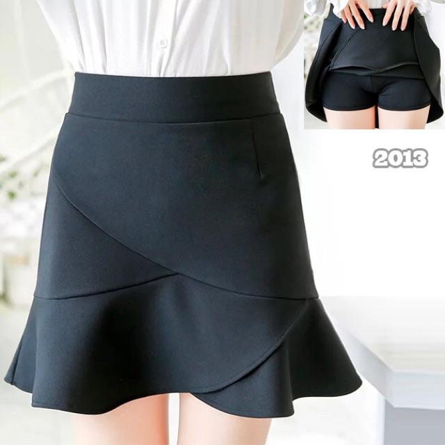 Chân váy đuôi cá màu đen có quần trong chất bao đẹp big size 60-80kg