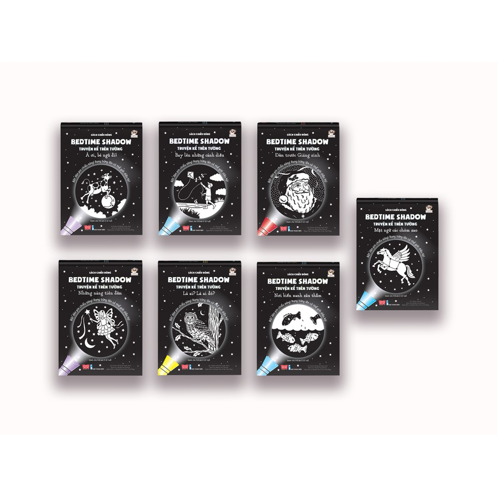 Sách - BỘ 7 cuốn Sách chiếu bóng - Bedtime Shadow - Truyện kể trên tường (tặng kèm đèn pin) - 3451501 , 977581573 , 322_977581573 , 882000 , Sach-BO-7-cuon-Sach-chieu-bong-Bedtime-Shadow-Truyen-ke-tren-tuong-tang-kem-den-pin-322_977581573 , shopee.vn , Sách - BỘ 7 cuốn Sách chiếu bóng - Bedtime Shadow - Truyện kể trên tường (tặng kèm đèn pin)