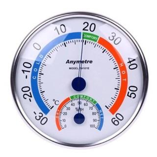 Yêu ThíchNhiệt ẩm kế cơ học đo độ ẩm và nhiệt độ Anymetre TANAKA TH101E / TH337 có thể để bàn hoặc treo tường [Halongstar]
