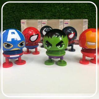 Nhập LETTA Hoàn 5k Xu Đơn 150k_Con Cười Emoji Nhún Avengers Lò Xo Lắc Đầu