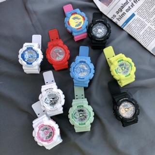 TẶNG KÈM PIN] Đồng hồ thể thao nam nữ Shhors chính hãng M986 thumbnail