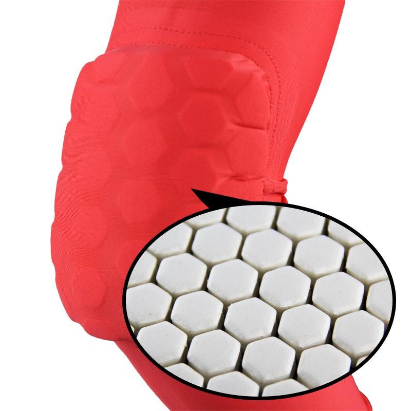 Bảo vệ khuỷu tay dài thoáng khí ,Miếng đệm khuỷu tay tổ ong thể thao chống va chạm cánh tay (AL 7046) 1 chiếc