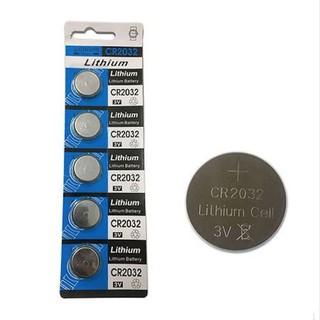 Vỉ 5 viên pin CR2032 / CR2025 / CR2016 / CR1632 / CR1616 / CR1620 / CR1220 dùng cho remote điều khiển, khóa điện tử