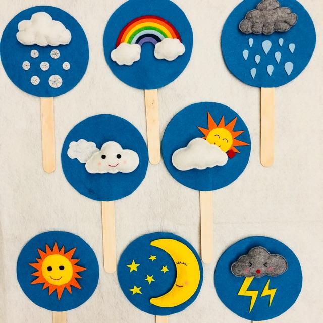 Bộ đồ chơi thời tiết