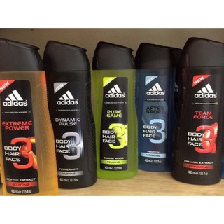 SỮA TẮM GỘI ADIDAS 3 IN 1 BODY 400 ml thumbnail