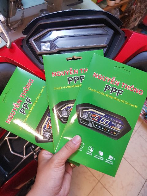Miếng dán bảo vệ mặt đồng hồ Cho xe Winner X PPF Skin