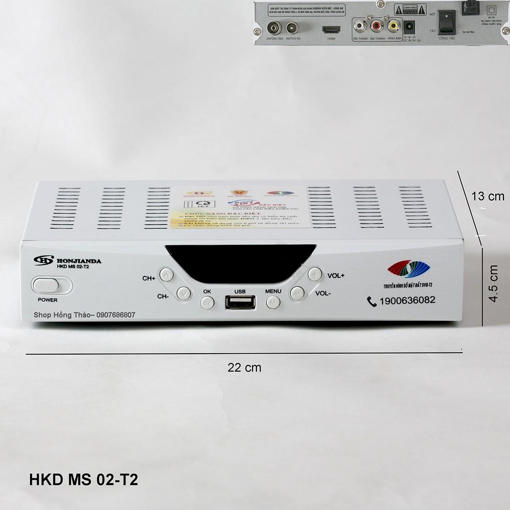 ĐẦU THU TRUYỀN HÌNH KTS DVB-T2 MS 02-T2 Trắng