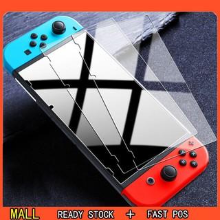 Set 1 2 3 miếng dán cường lực 9H bảo vệ màn hình máy chơi game Nintendo Switch nintendo switch thumbnail