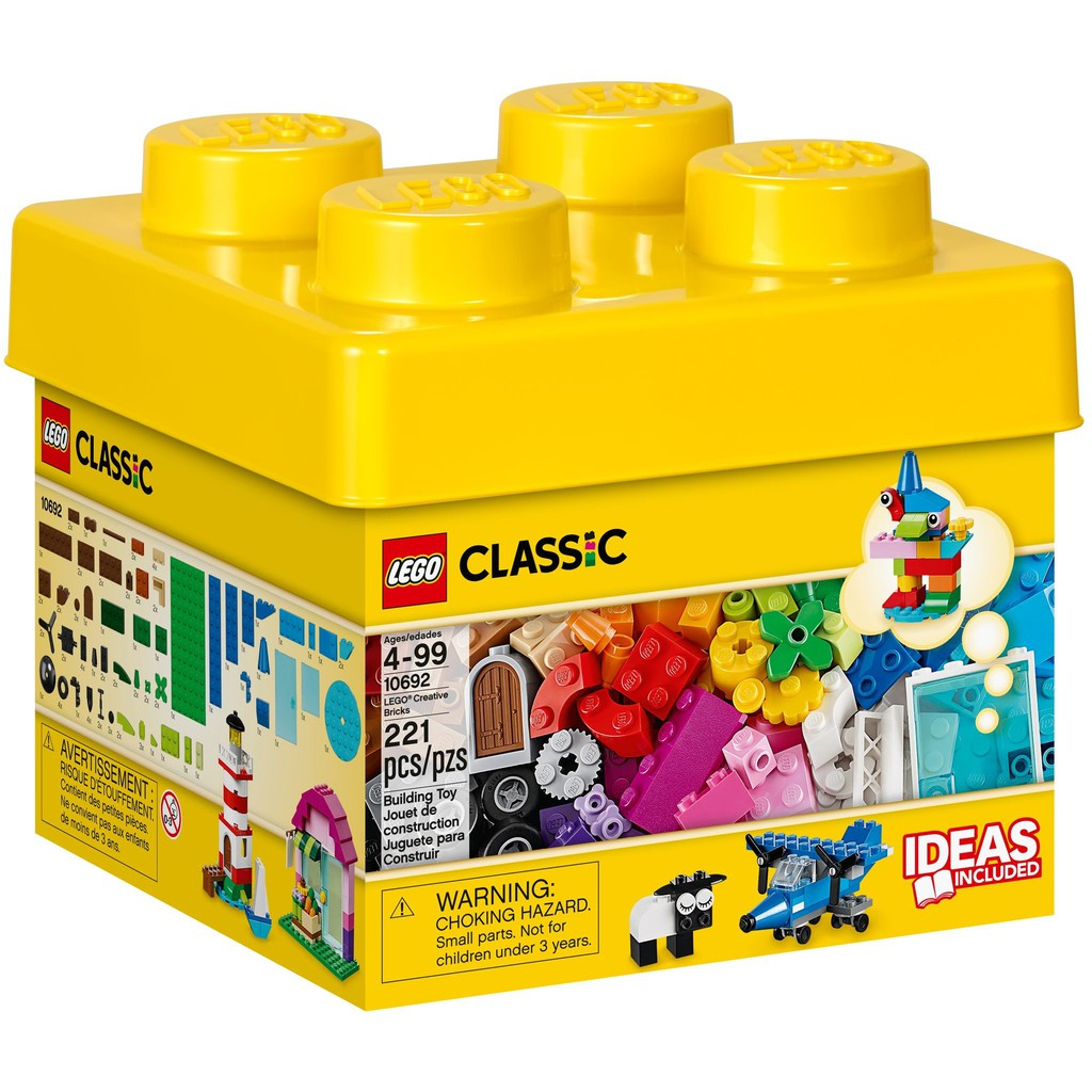 Thùng LEGO 10692 LEGO® CLASSIC Creative Bricks