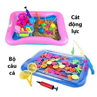 Combo Bộ đồ chơi Cát động lực + Bộ câu cá cho bé - 3423720 , 1188265773 , 322_1188265773 , 300000 , Combo-Bo-do-choi-Cat-dong-luc-Bo-cau-ca-cho-be-322_1188265773 , shopee.vn , Combo Bộ đồ chơi Cát động lực + Bộ câu cá cho bé