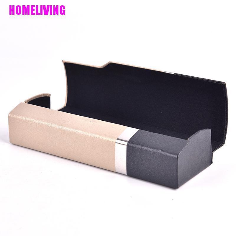 HOMELIVING Handmade Magnet Glasses Box High-grade Wood Handmade Sunglasses Case