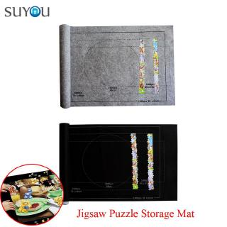 SUYOU For Up To 1500 Pieces Home&Living Game For kids Roll Up Game Accessories Jigsaw Storage Mat