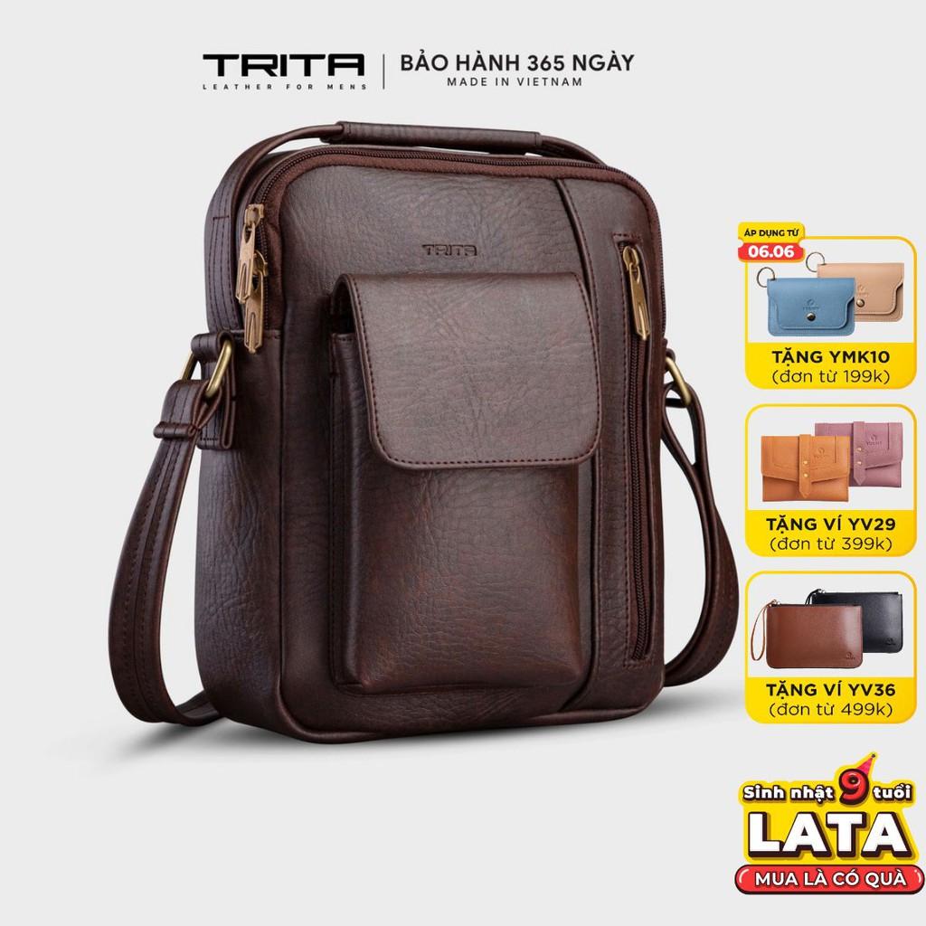 Túi đeo chéo da nam - nữ thời trang TRITA RTN3