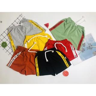 Combo 3 quần đùi cho bé trai và bé gái cạp thun xịn xò mát mẻ (giao màu ngẫu nhiên)