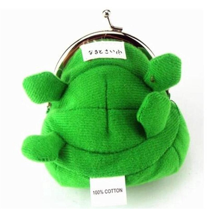 Ví đựng tiền xu hình ếch nhồi bông phỏng theo kiểu ví của Naruto Uzumaki